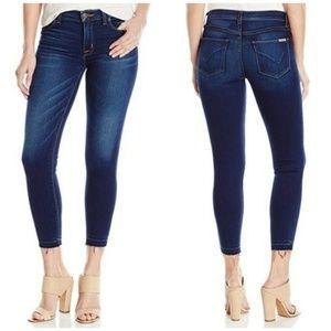 Hudson Nico Crop Skinny Jean's with released hem